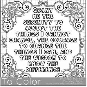 printable serenity coloring page for adults pdf jpg