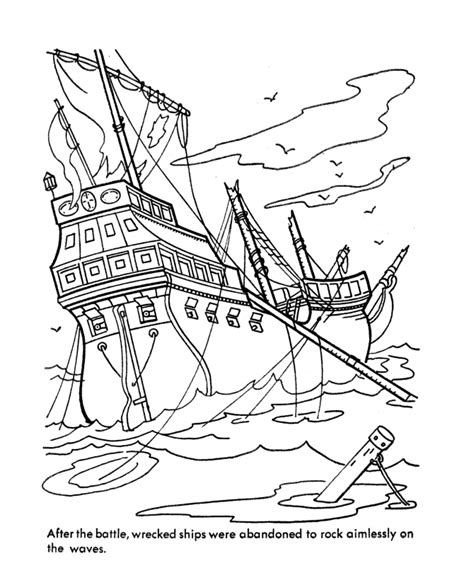ghost ship coloring page caribbean pirates of the sea coloring page coloring