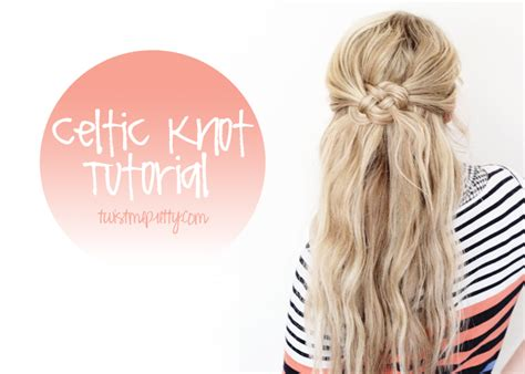 how to do knot hairstyles celtic knot tutorial hairstyle by abby of twist me pretty