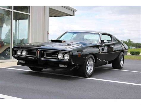 1971 dodge charger black 1971 dodge charger bee coupe for sale classiccars