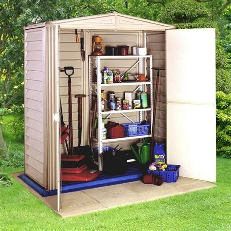 small outdoor storage closet majestic outdoor durable plastic storage cabinet from