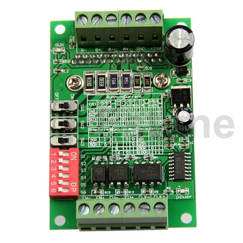 Tb6560 Programming Universal Driving Board Single Axis Controller tb6560 3a board driver cnc router single 1 axis controller stepper motor drivers