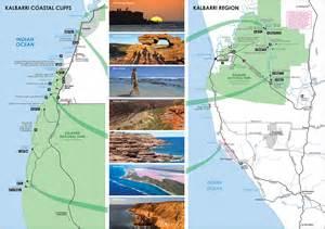 kalbarri visitor centre australia map