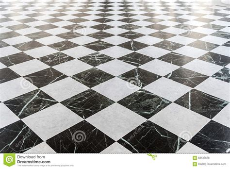 pavimento marmo nero pavimento di marmo a quadretti in bianco e nero fotografia