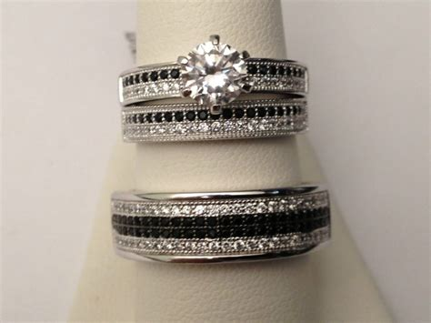 Cheap Wedding Rings Sets for Him and Her