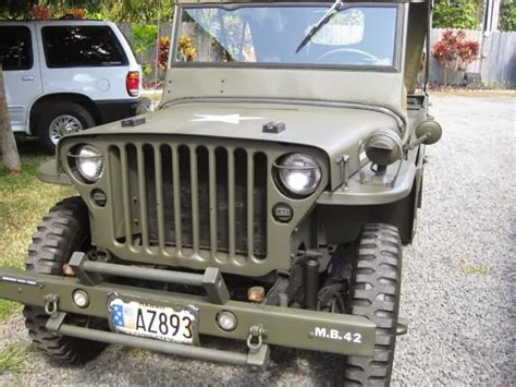 Army Jeep For Sale 1942 Us Jeep For Sale 4x4 Cars