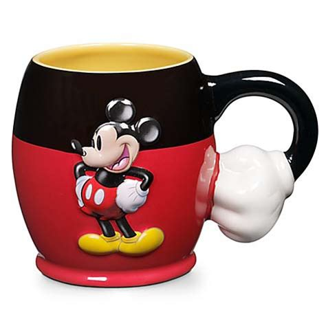 mickey cup your wdw store disney coffee cup mug mickey mouse raised
