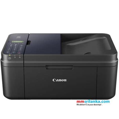 Printer Canon Scan canon pixma e480 wireless all in one printer print scan copy fax wifi