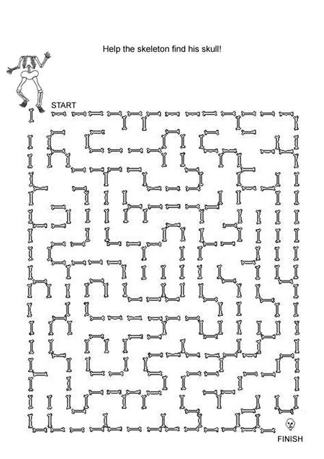 printable halloween maze worksheets free online printable kids games halloween maze maze