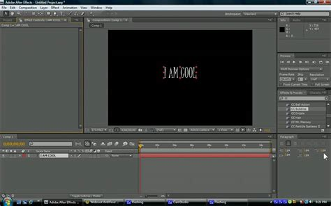 tutorial intro adobe after effects cs4 adobe after effects cs4 basic tutorial youtube