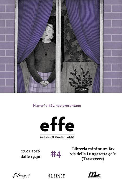 libreria minimum fax effe 4 in tour la presentazione romana flaner 237