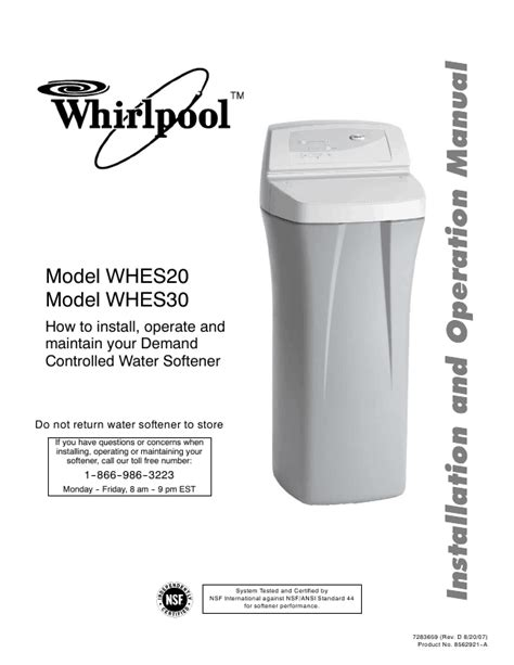 whirlpool water softener should you put your money on whirlpool water softeners best water softener reviews 2017