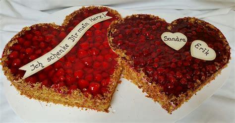Hochzeitstorte Obst Herz by B 228 Ckerei Humpert Hochzeitstorten