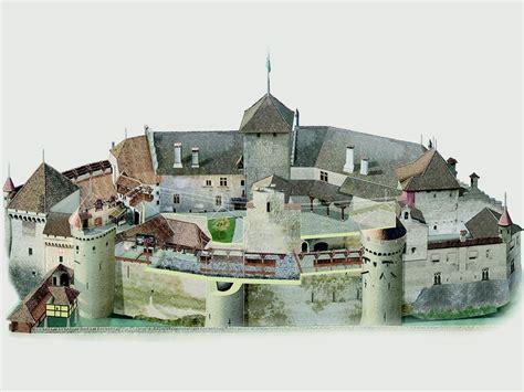 Castle Floor Plans Minecraft ch 226 teau de chillon plan du ch 226 teau