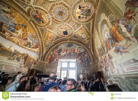 raphael rooms raphael rooms editorial photography image of rooms musei 56152372