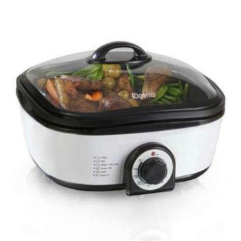Multi Fryer elgento e114019 6 in 1 multi chef 1500 watt white ebay