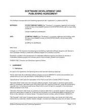 Software Consulting Agreement Template Software Development And Consulting Services Agreement