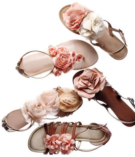pretty flower shoes diy projects pretty summer sandals pretty designs