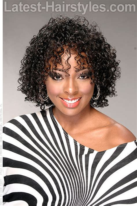 natural neck length hairstyles for african american women 15 curly hairstyles for summer zest up your look
