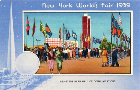 Mba Fair New York by 17 Best Images About 1939 New York World S Fair Postcards
