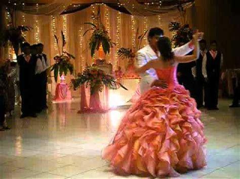 bailando el vals de quince a os quinceaneras waltz quincea 241 era bailando con su papa 1oct11 youtube