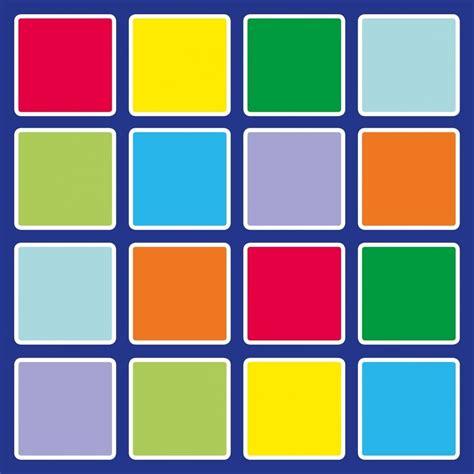 teppich 2 x 2 m rainbow squares placement carpet edusentials