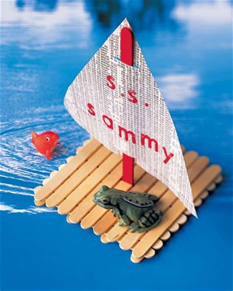 how to make a boat using craft sticks 20 amazing popsicle stick crafts