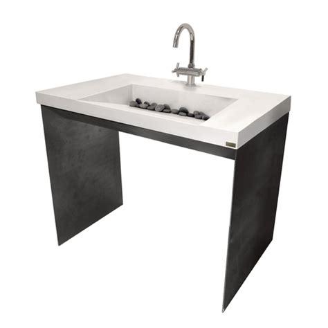 Ada Pedestal Sink Ada 40 Quot Contempo Bathroom Vanity Sink Trueform Concrete