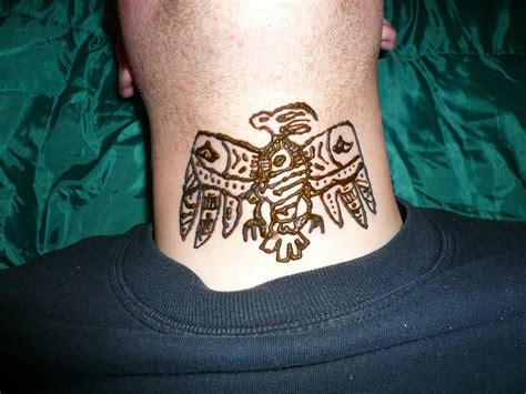 aztec bird tattoo henna designs aztec makedes