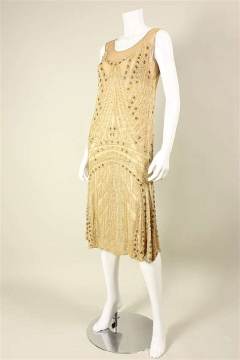 1920 beaded dresses for sale 1920 s beaded silk flapper dress for sale at 1stdibs