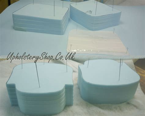 upholstery foam cut to size foam cut to size template upholsteryshop co uk