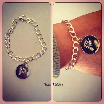 gioielli con lettere bracciali con lettera strass gioielli bracciali e
