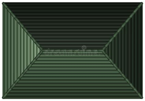 top view  gray rooftop stock vector illustration