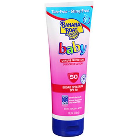 banana boat baby sunscreen banana boat baby sunscreen lotion spf 50 drugstore