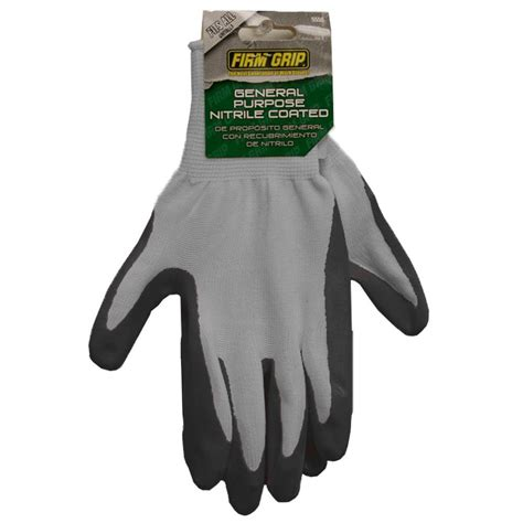 firm grip nitrile coated polyester work gloves 5550 the