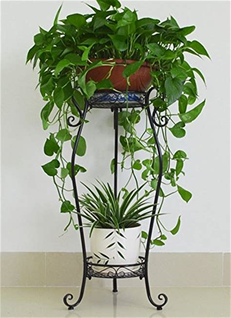 Living Room Flower Pot Garbagemall Plant Stands Iron Stands Balcony Indoor Living