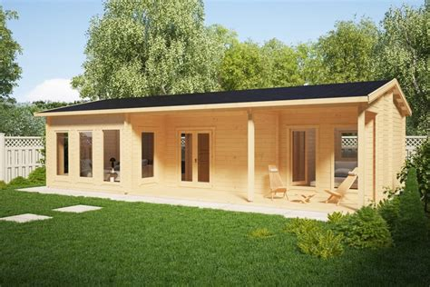 summer c cabins large log cabin summer house hansa holiday c 50m2 6 x