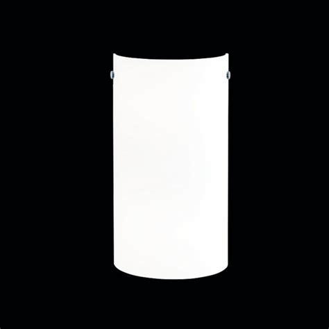 wandleuchte halbrund hufnagel wandleuchte rondo halbrund glas wei 223 900441 31