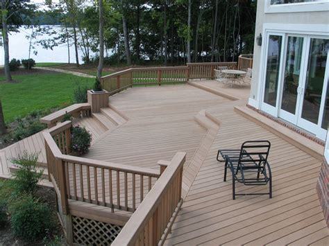 patio step ideas deck stairs ideas how to choose the best stair design for your deck st louis decks screened