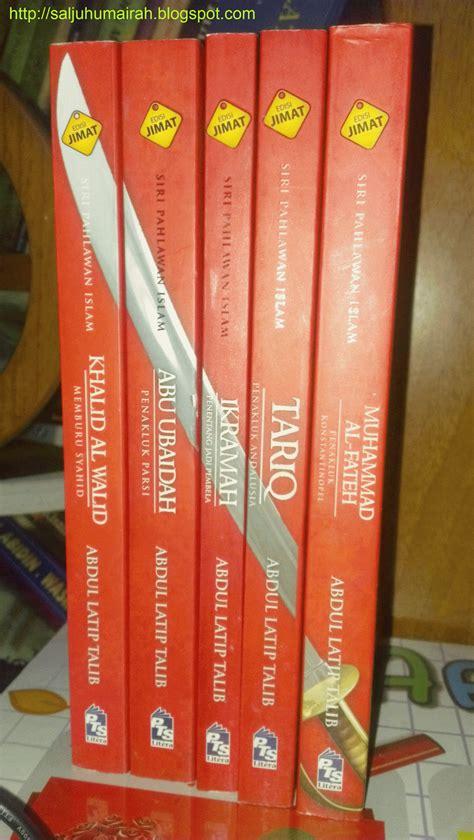 Buku 10 Pahlawan Penyebar Islam M Mahmud Al Qadhi set novel siri pahlawan islam abdul latip talib saljuhumairah