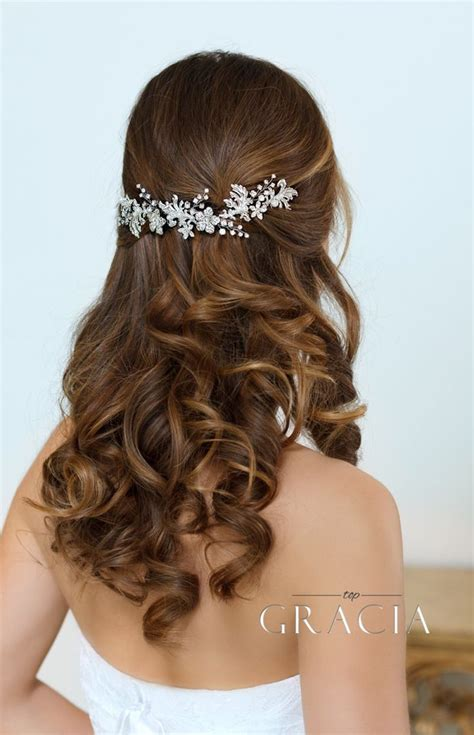 Wedding Hair With Bling by 709 Best Bridal Wedding Hair Bling Images On