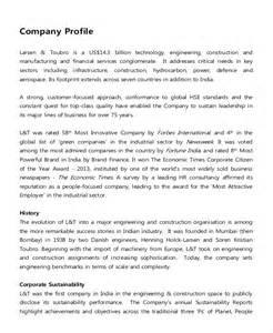it description template 9 company description exles free premium templates