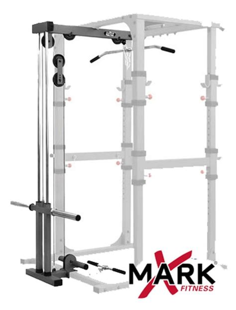 The Rack Dip Station by Xmark Xm 7620 Commercial Power Cage With Dip Station