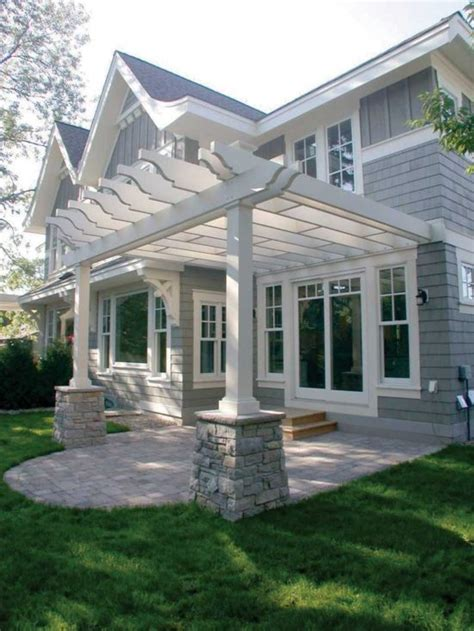 House Patio Design Creative Pergola Designs And Diy Options