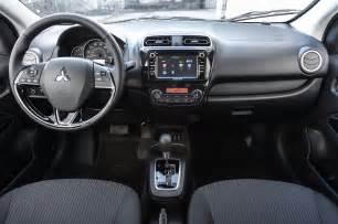Mitsubishi G4 Interior 2017 Mitsubishi Mirage G4 Heads To New York Motor Trend