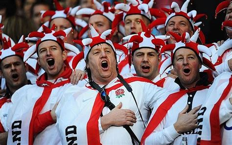 why do england fans sing swing low six nations action in pictures telegraph