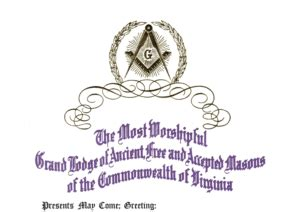 masonic dues card template awards certificates the grand lodge of virginia