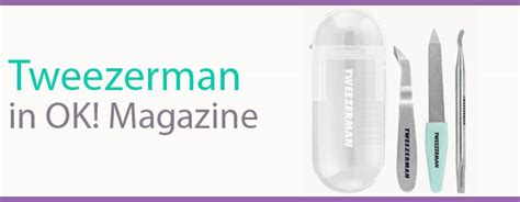 Tweezerman Mini Nail Rescue Kits tweezerman mini nail rescue kit named the pocket rocket by ok magazine