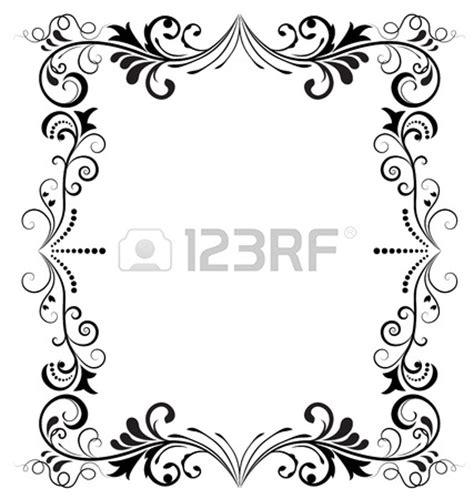 marcos vintage en blanco y negro descargar vectores gratis negro y blanco vintage frame vector vertical foto de