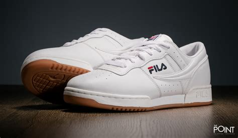 Original Fitness For shop fila original fitness white gum at the sneakers shop thepoint es